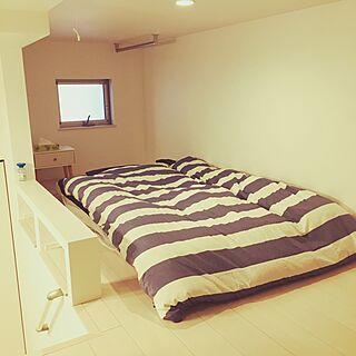 男性29歳の一人暮らし1K、ロフトスペースに関するotakutakuさんの実例写真