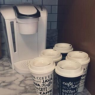 コーヒーメーカー/海外在住/KEURIG/キューリグ/カプセルコーヒーのインテリア実例 - 2017-12-06 09:55:28