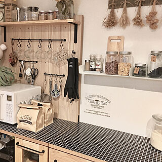 女性家族暮らし4LDK、セリアの食器に関するxoxoさんの実例写真
