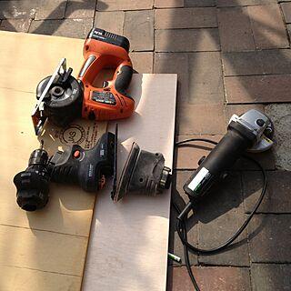 男性38歳の一人暮らし1LDK、工具達に関するtake2000kbさんの実例写真