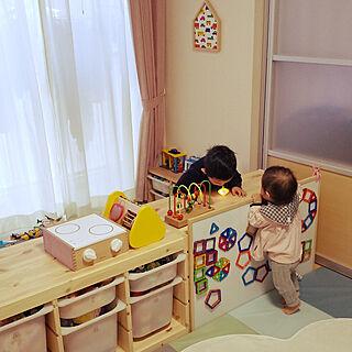 リビング/子供部屋&キッズスペース/1LDK/こどもと暮らす/賃貸...などのインテリア実例 - 2020-02-18 20:10:34
