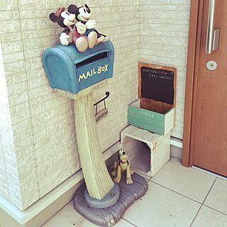 女性34歳の家族暮らし、ミッキーミニーに関するkuuさんの実例写真