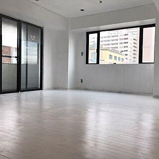 部屋全体/白い天井/白い壁/白い床/白い部屋...などのインテリア実例 - 2016-11-05 09:33:28