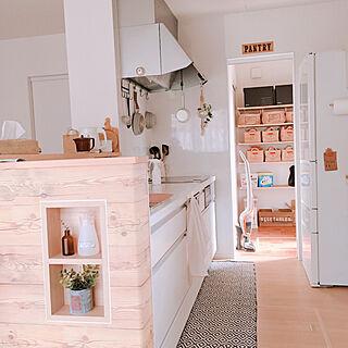 女性36歳の家族暮らし、ニトリのミルクパンに関するmakiさんの実例写真