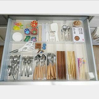 キッチン/雑貨/収納/セリア/DIY...などのインテリア実例 - 2017-08-21 22:25:06