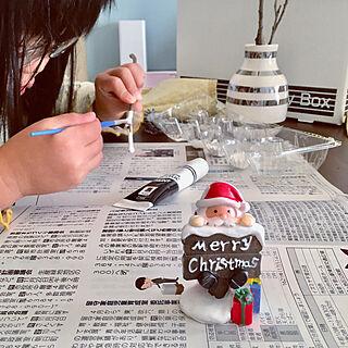 女性家族暮らし3LDK、絵の具に関するichi.さんの実例写真