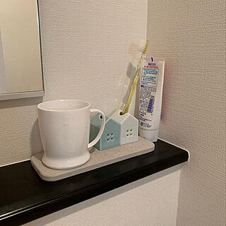 一人暮らし1K、賃貸 洗面所に関するyuzuさんの実例写真