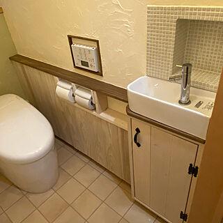 トイレの収納/TOTOトイレ/1×4材/トイレ改造計画/トイレDIY...などのインテリア実例 - 2020-03-25 17:34:54