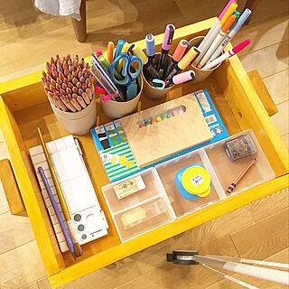 子ども部屋収納/DIY/手作り/DIY女子/4歳...などのインテリア実例 - 2020-09-11 13:30:42
