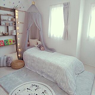 模様替え/子供部屋/ニトリ/Nウォーム/寝具...などのインテリア実例 - 2018-12-01 10:00:15