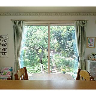 女性35歳の4LDK、解放感のある部屋に関するchururiさんの実例写真