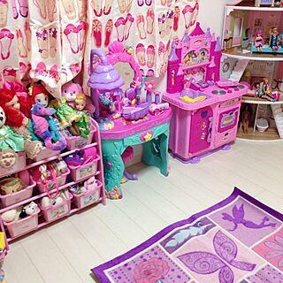 部屋全体/子供部屋 /kids room/プリンセス/プリンセス部屋...などのインテリア実例 - 2015-05-12 14:30:55