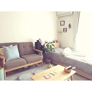 女性33歳の一人暮らし1K、リセノに関するikechonさんの実例写真