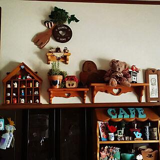 ダイソー/セリア/木工雑貨/自己満足でごめんなさい♡(๑¯ω¯๑)/ハンドメイド大好き♡...などのインテリア実例 - 2018-02-03 14:31:55