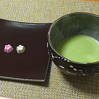 机/花うさぎ/諸江屋/和菓子/甘味/抹茶が飲みたい...などのインテリア実例 - 2017-08-07 00:08:01