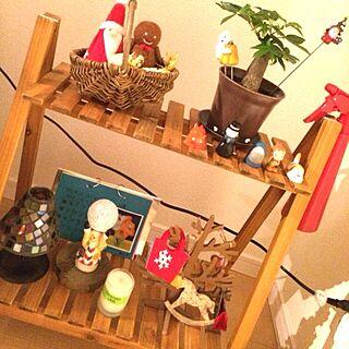 壁/天井/キャンドル/一人暮らし/植物/観葉植物...などのインテリア実例 - 2013-11-19 21:01:38