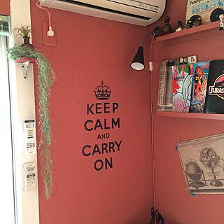 部屋全体/フェイクグリーン/いなざうるす屋さん×nikoand.../いなざうるす屋さん フェイクグリーン/IKEA...などのインテリア実例 - 2016-05-24 09:19:31