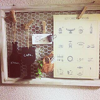 女性家族暮らし4LDK、チキンネット白ペイントに関するShishiさんの実例写真