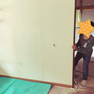 女性39歳の家族暮らし、壁壊しに関するcocoさんの実例写真