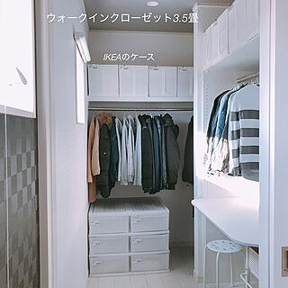 棚/収納ボックス/収納/マワハンガー/衣類収納...などのインテリア実例 - 2018-05-08 22:44:01