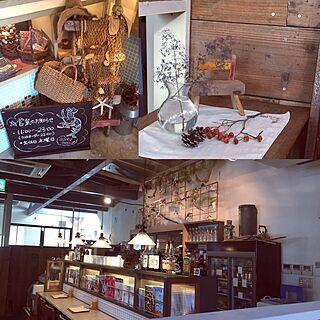リビング/アンティーク雑貨/お洒落なカフェ/我が家ではありません。/ココペリシュリンプ...などのインテリア実例 - 2017-05-28 21:51:15