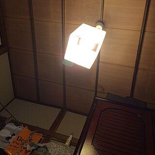 壁/天井/和室/レトロ/IKEAのLight/電球が大きくなったのインテリア実例 - 2014-11-02 12:30:55