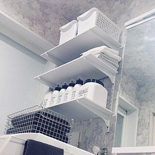 バス/トイレ/3COINS/DIY/洗濯機上収納/洗濯機上の棚...などのインテリア実例 - 2018-02-28 21:19:15
