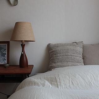 クッションカバー/寝室インテリア/寝室/ベッドルーム/ベッド...などのインテリア実例 - 2019-10-31 00:14:01