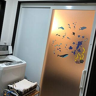 女性27歳の家族暮らし2LDK、シルエットアートに関するreirei3413さんの実例写真