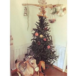 リビング/ハロウィン/流木/christmas tree/暮らしの一コマ...などのインテリア実例 - 2018-10-05 11:36:39
