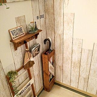 女性一人暮らし1K、ニトリ2017玄関コーディネートモニターに関するRyoさんの実例写真