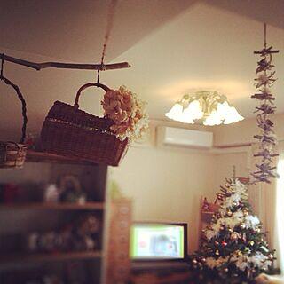 部屋全体/Christmas/かごさんたち☻/いなざうるす屋さん/mayoちゃんのインテリア実例 - 2013-11-22 12:47:23