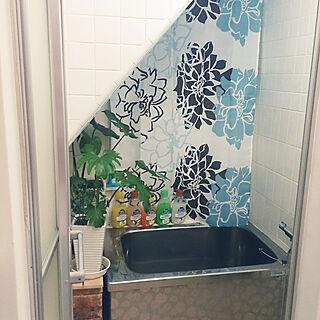 女性48歳の一人暮らし3LDK、お風呂場に関するkunikunieさんの実例写真