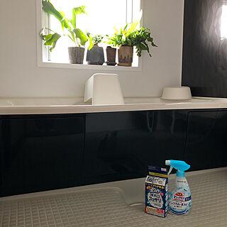 お風呂からこんにちは/よもぎがいたずらするのでグリーン避難/ウィルス除去/ウィルス対策/掃除しやすい家...などのインテリア実例 - 2020-11-09 12:30:44