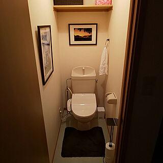 バス/トイレ/ハワイ/写真/トイレマット/トイレペーパーホルダーのインテリア実例 - 2019-02-09 16:26:59