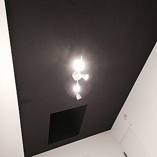 ベッド周り/天窓/天井/アクセントクロス/内覧会...などのインテリア実例 - 2016-01-03 01:20:25