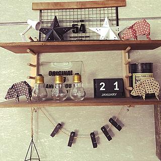 女性家族暮らし3LDK、My Shelf セリアに関するnoritamahouseさんの実例写真