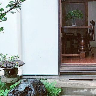 灯籠/ダイニングテーブル/食堂/一生ものの家具/日本家屋...などのインテリア実例 - 2020-07-23 11:06:14