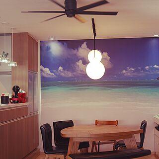 女性家族暮らし3LDK、ラニカイビーチに関するcanaccuさんの実例写真