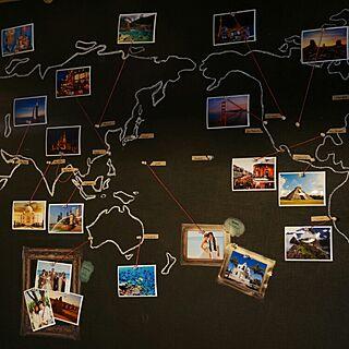 女性3LDK、地図に関するmlemonさんの実例写真