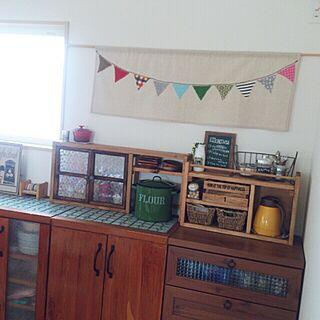キッチン/DIY/キッチン背面/カフェコーナーのインテリア実例 - 2014-07-04 10:39:25