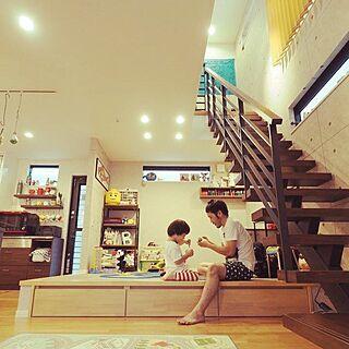 女性家族暮らし、IKEA ルンバに関するerinarieさんの実例写真
