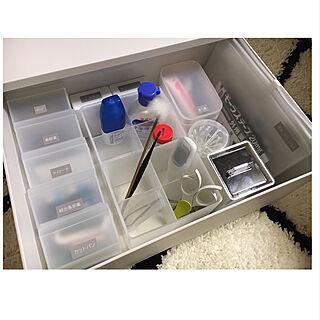 女性31歳の家族暮らし2LDK、薬の収納に関するhitomi-617さんの実例写真