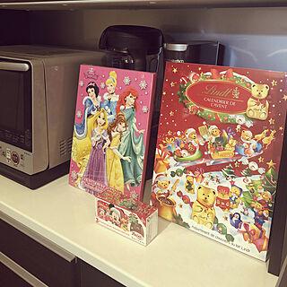 女性家族暮らし3LDK、クリスマスカウントダウンに関するichigoさんの実例写真