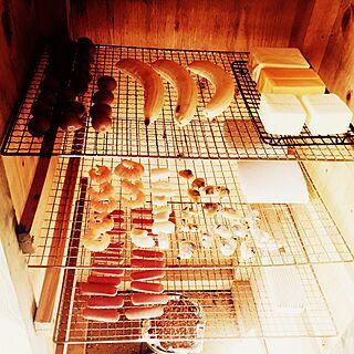 キッチン/バナナ⁉︎/燻製機/燻製/ログハウス...などのインテリア実例 - 2015-05-09 09:55:17