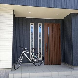 玄関/入り口/自転車/自転車置き場/玄関/玄関ドア...などのインテリア実例 - 2020-09-03 11:17:19