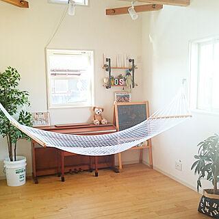 家族暮らし3LDK、ハンモックのある暮らしに関するGARAGE__HOUSEさんの実例写真