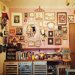 壁/天井/アートのある暮らし/私の作品/アート作品/ドール...などのインテリア実例 - 2020-05-17 02:04:37