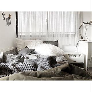 ベッド周り/H&M HOME/Francfranc/クッション/ベッドルーム...などのインテリア実例 - 2018-03-14 18:02:11