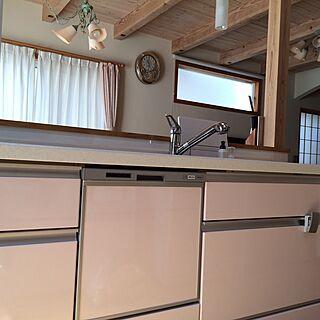 女性37歳の家族暮らし3LDK、ピンク系の部屋に関するShokoさんの実例写真